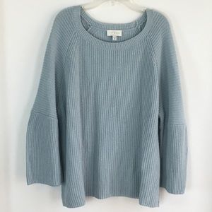 Lucky Brand EST 1990 LosAngeles Blue Sweater Sz.XL